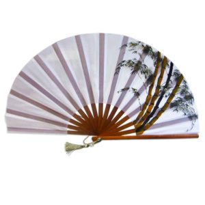 Hand Painted Fan
