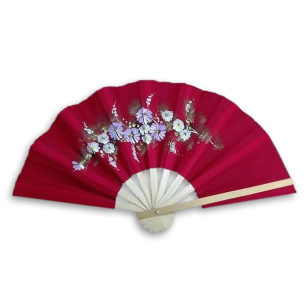 Handpainted Bamboo Fan