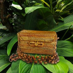 Sling Bag Rectangle, The Sling Made Of Wicker